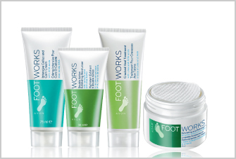 Foot Works Hydrate and soften