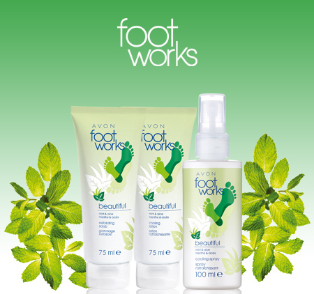 Footworks Beautiful Mint & Aloe